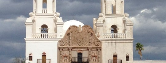 Mission San Xavier del Bac is one of TUC Latin Faves in The Old Pueblo.