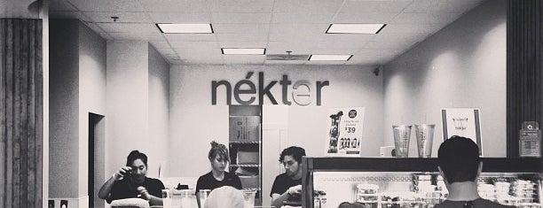 Nekter Juice Bar is one of I Want To Go Here.