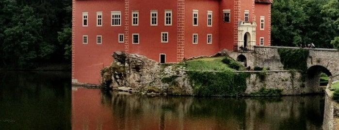 Zámek Červená Lhota is one of můj seznam míst.