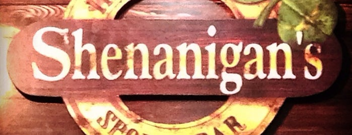 Shenanigan's is one of RIO - Bares.