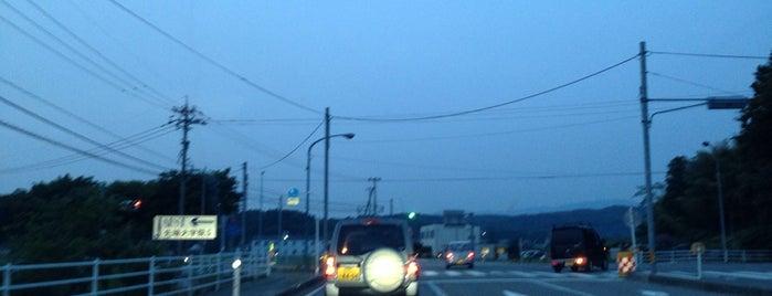 上八里町交差点 is one of こまつ.