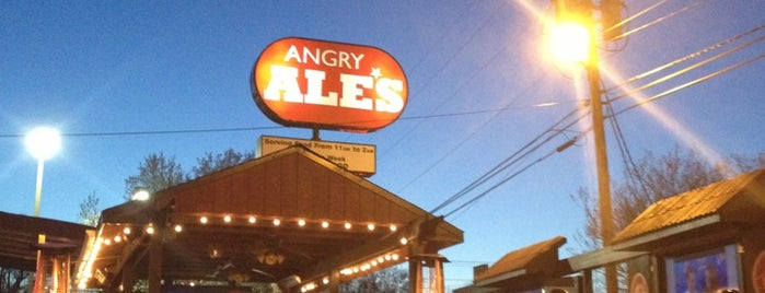 Angry Ale's is one of Clt drank.