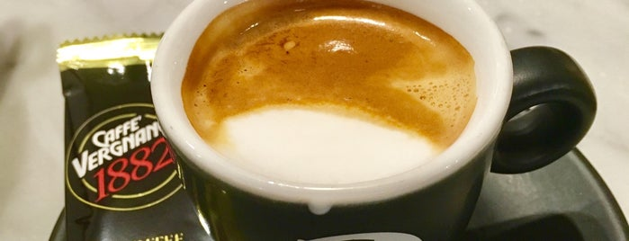 Caffe' Vergnano is one of Coffee Snob Approved.