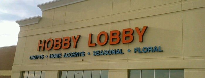 Hobby Lobby is one of Favorites.