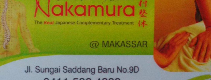 Nakamura Japanese Complementary Clinic is one of Makassar.