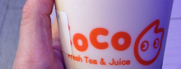 CoCo Fresh Tea & Juice is one of NYC.
