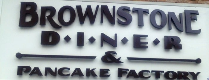 Brownstone Diner & Pancake Factory is one of DINERS DRIVE-IN & DIVES 3.