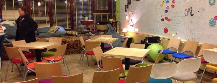 Хаб Гостиная / Hub livingroom is one of Антикафе / Coworking.