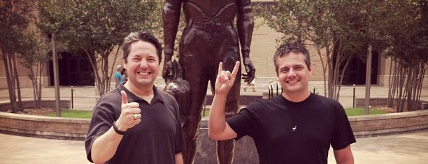 12th Man Statue is one of Aggie Traditions.