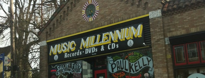 Music Millennium is one of PDX To-Do.