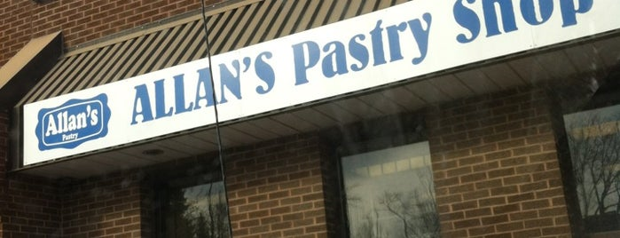 Allan's Pastry Shop is one of Toronto.