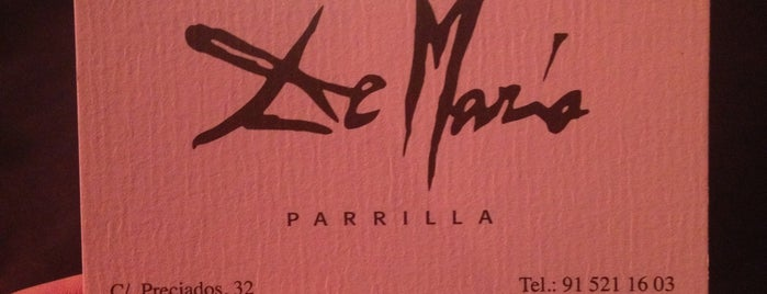 La Parrilla de Mario is one of Comer en Madrid.