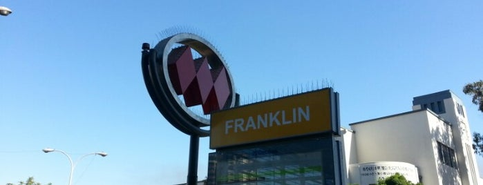 Metro Franklin is one of Metro de Santiago L2.
