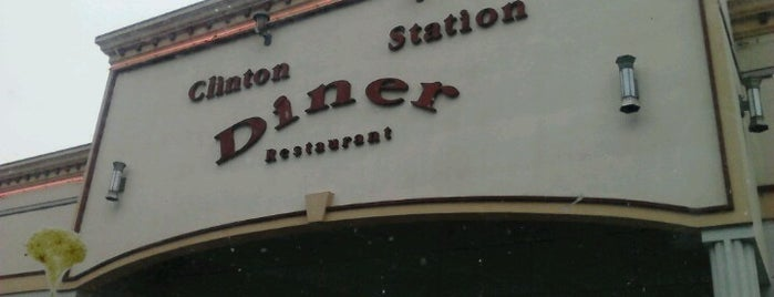 Clinton Station Diner is one of Diners I want to go.