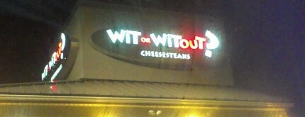 Wit or Witout? is one of 10 Best Philly Cheesesteaks.