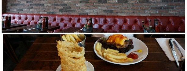 Meat and Shake is one of Burgers in London.