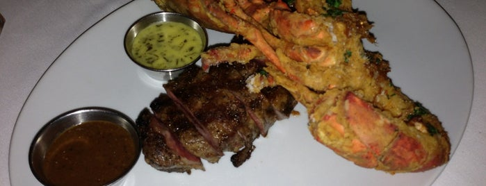 Oak Steakhouse is one of my charleston places.