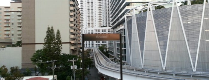 MDT Metrorail - Brickell Station is one of Locations Discovered.