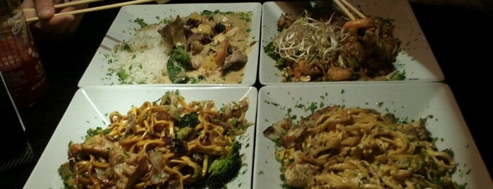 Babe´s Noodles and Bar I is one of Babe's noodles Playa del Carmen.