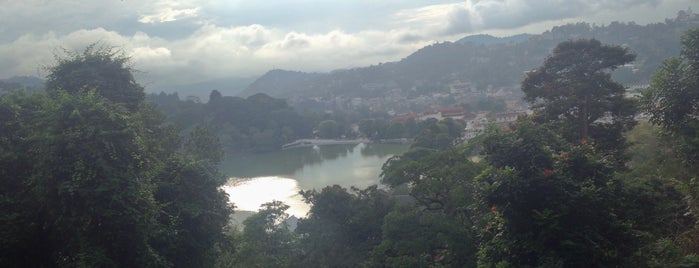 Sacred City of Kandy is one of UNESCO World Heritage Sites (Asia).