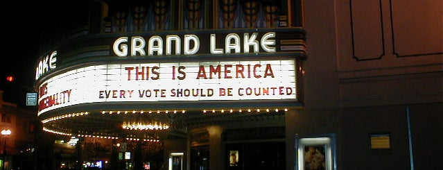 Grand Lake Theater is one of Recreation/ outings.