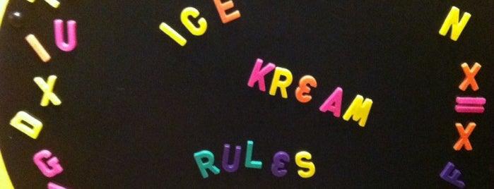 RJ Ice Cream is one of Elm Grove.