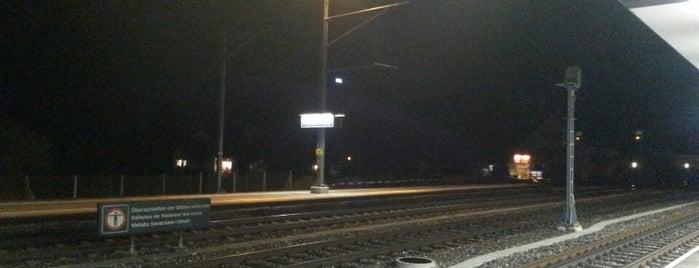 Bahnhof Niederbipp is one of Bahnhöfe.