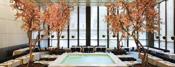 The Four Seasons Restaurant is one of New York City.