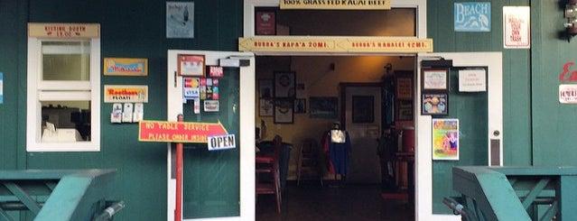 Bubba Burgers is one of Kauai.