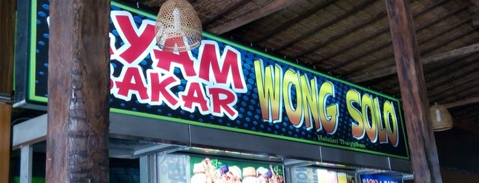 Ayam Bakar Wong Solo is one of Fried Check-in Badge in Bali.