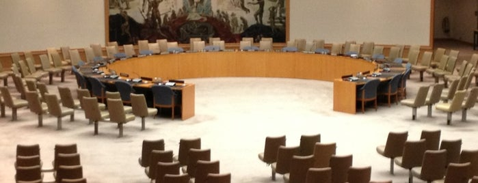 United Nations Security Council is one of New York.