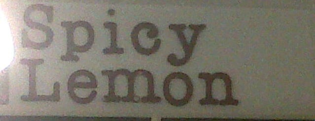 Spicy Lemon is one of My 15 favorites places in San Pedro, Philippines.
