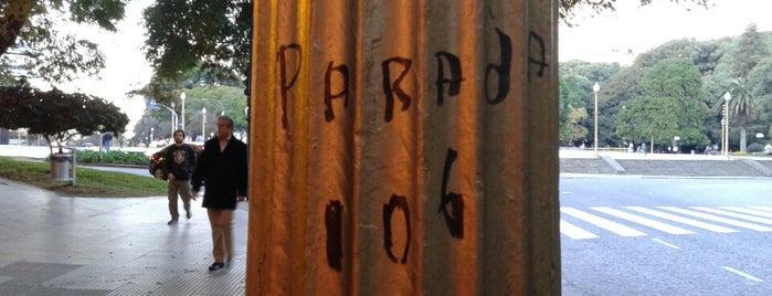 Parada Línea 106 is one of Colectivo: Línea 106.