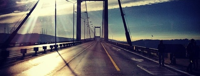 Bosphorus Bridge is one of All-time favorites in Turkey.