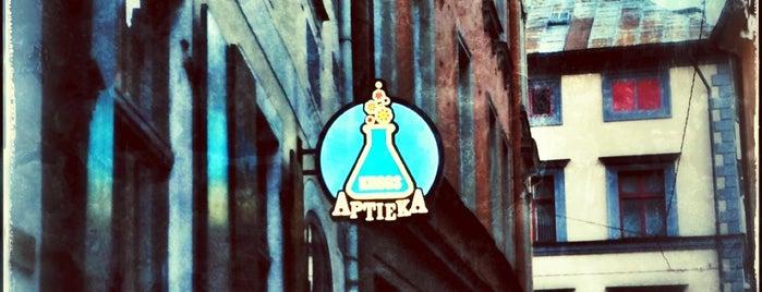 Aptieka is one of Dzert.