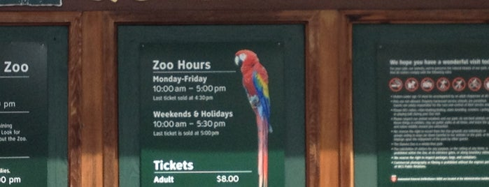 Queens Zoo is one of Wi-Fi in NYC Parks.