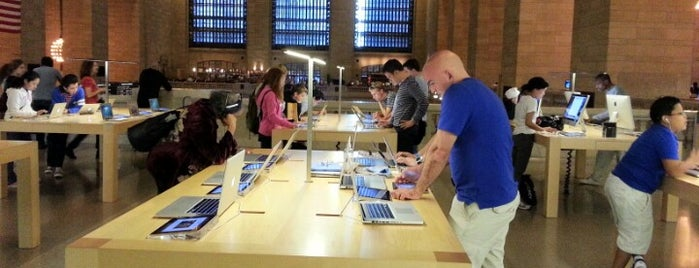 Apple Grand Central is one of NYC - Stores.