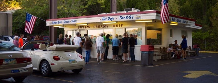 Putz's Creamy Whip is one of The 15 Best Places for Hot Dogs in Cincinnati.