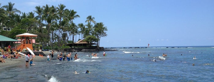 Kahalu'u Beach is one of HI spots.