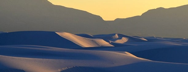 White Sands National Monument is one of National Parks.