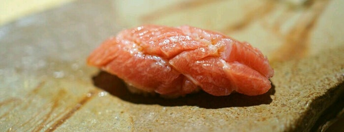 Sushi Saito is one of Where in the World to Eat.