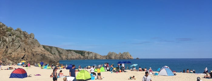 Porthcurno Beach is one of Tupshole.