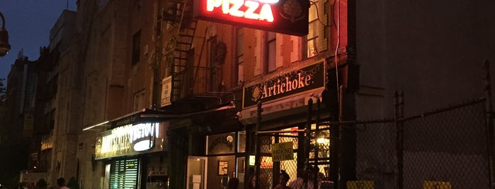 Artichoke Basille's Pizza & Brewery is one of Pizza Places Around NYU.