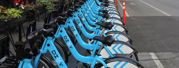 Divvy Station is one of Chicago.