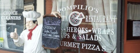 Pompilios Pizzeria and Restaurant is one of Pascack Eats.