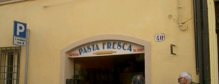 pasta fresca Patrizia Battaglia is one of Ferrara.