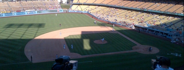 Dodger Stadium is one of Lugares.