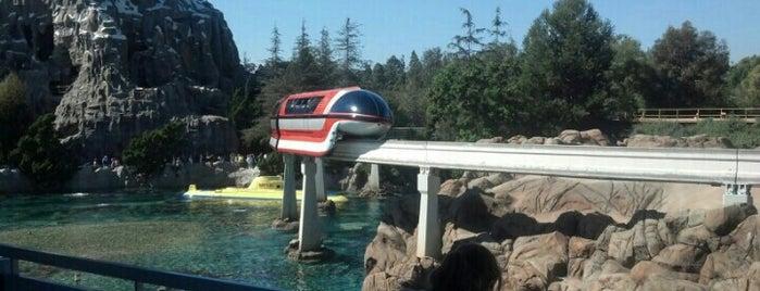 Disneyland Monorail is one of California 2014.
