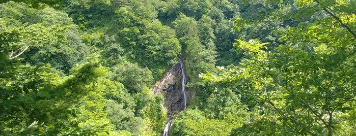 七ツ滝 is one of 日本の滝百選.