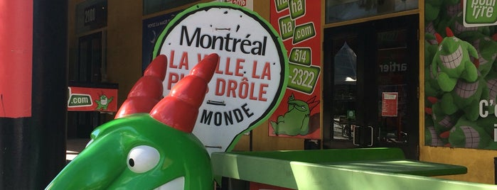 Just for Laughs Office is one of Carte accès Montréal.